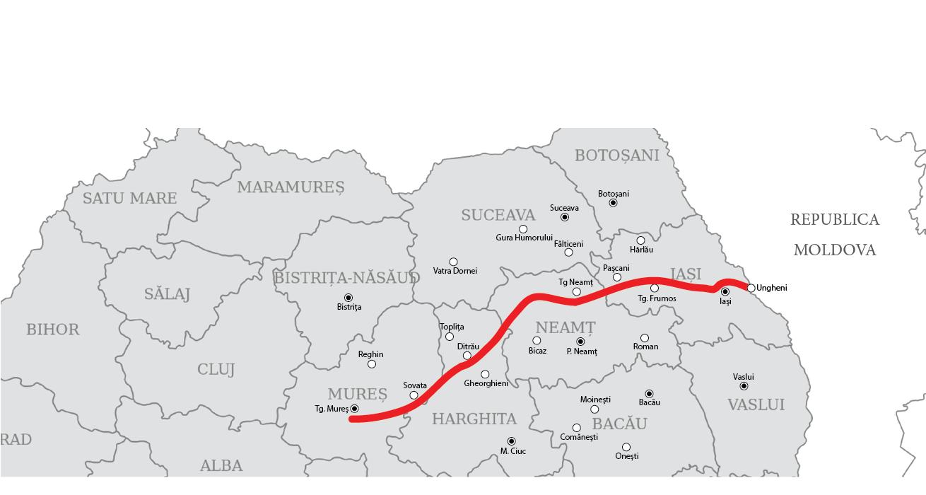 Stratégiai jelentőségű országos projektnek nyilvánítják az Erdélyt Moldvával összekötő autópályát